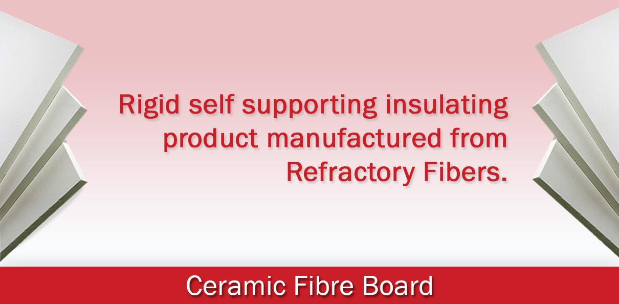 Ceramic Fibre Board Banner