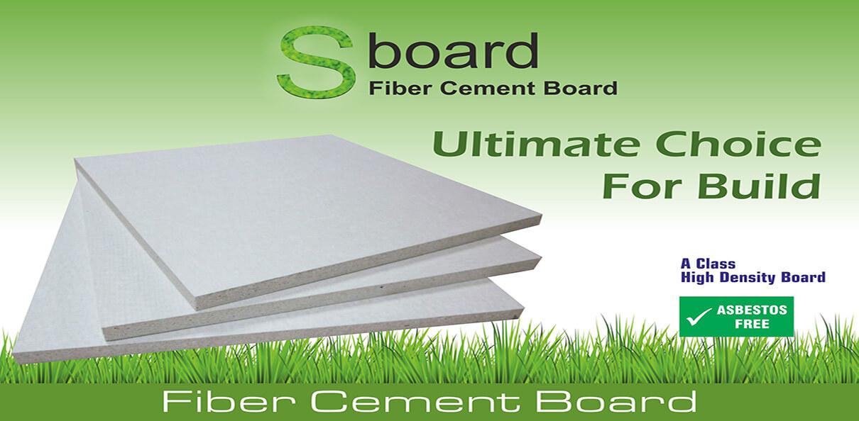 Fiber Cement Board Banner